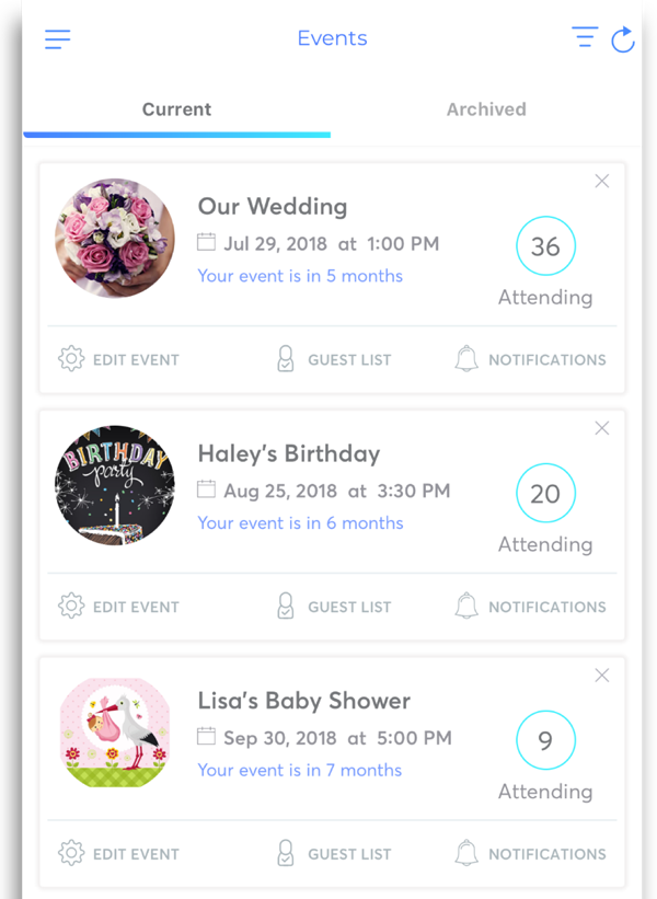 Invitation Maker App RSVP
