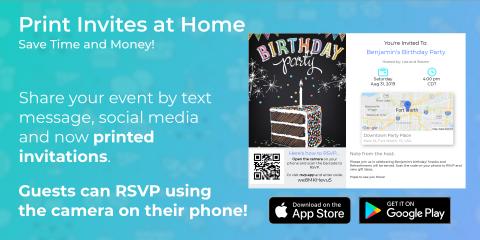 Invitd - Invitation Maker App for Text Messages